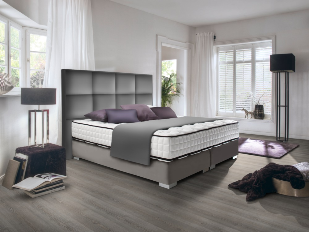 boxspringbett kingston direkt vom hersteller stoffe nach wahl. Black Bedroom Furniture Sets. Home Design Ideas