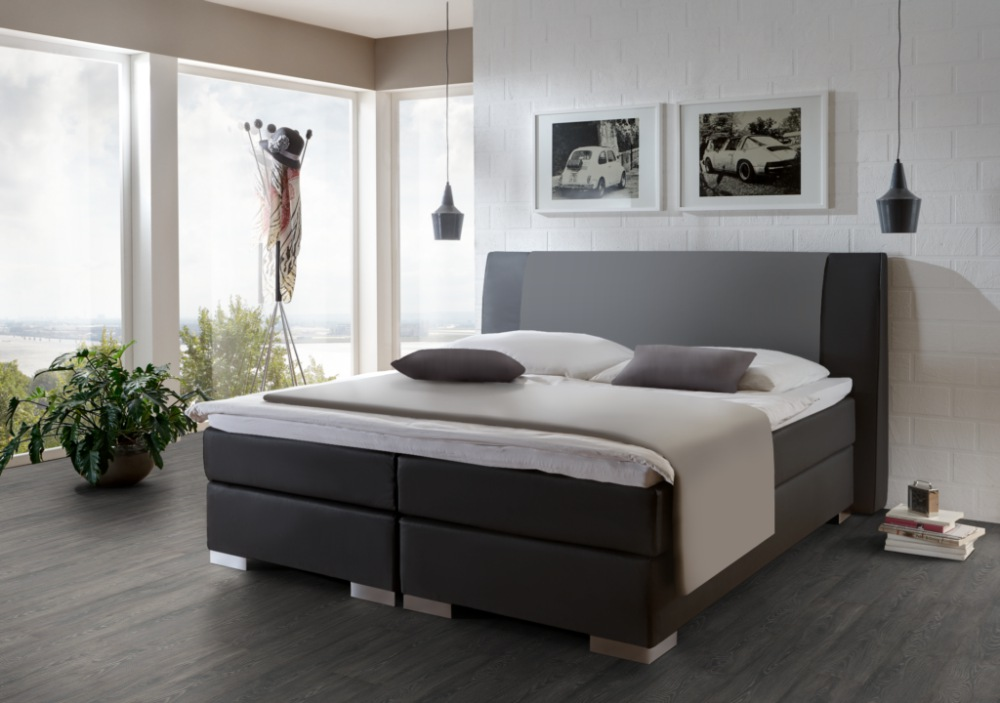 boxspringbett alano 2 direkt vom hersteller stoffe nach wahl. Black Bedroom Furniture Sets. Home Design Ideas