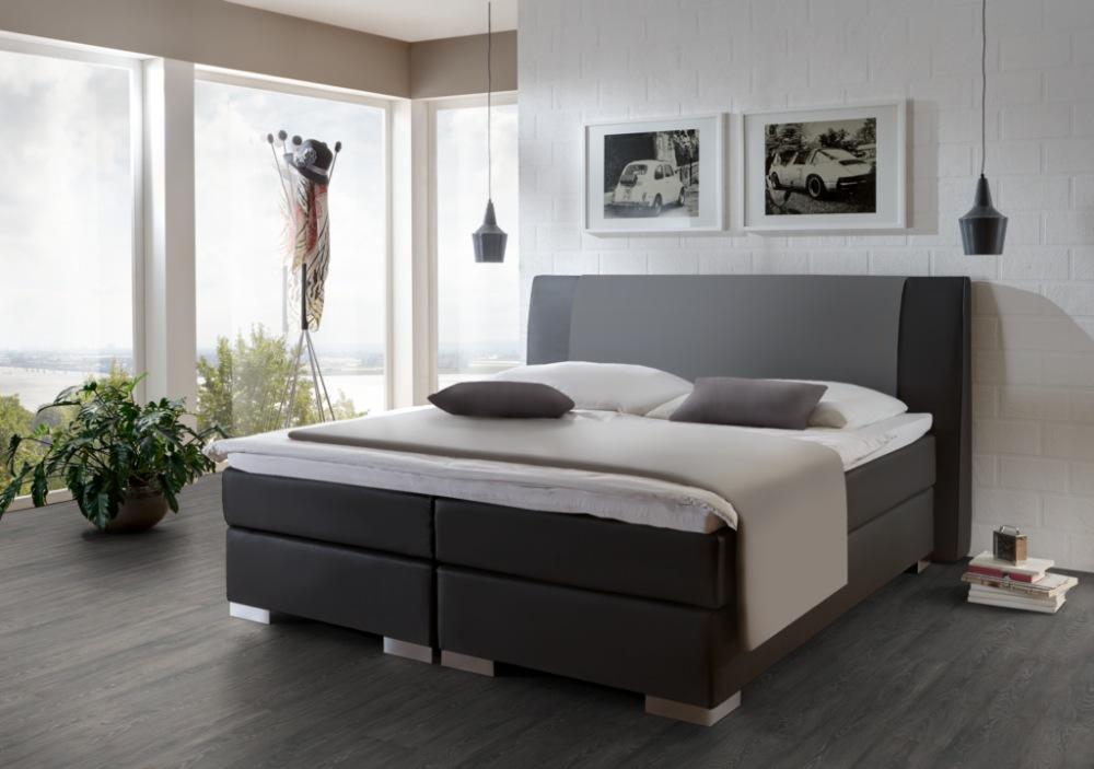 boxspringbett alano 2 direkt vom hersteller stoffe nach. Black Bedroom Furniture Sets. Home Design Ideas