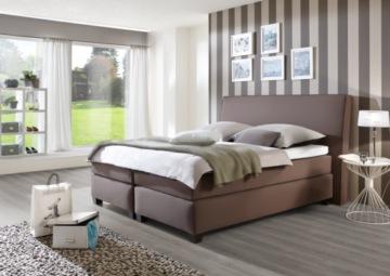 boxspringbett kunstleder hochwertige kunstleder. Black Bedroom Furniture Sets. Home Design Ideas